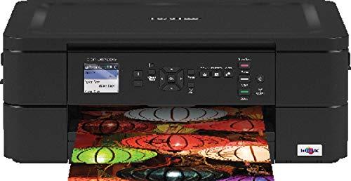Brother DCP-J572DW Imprimante multifonction 3 en 1 Jet d'encre|couleur | A4 |Impression recto-verso automatique |Ecran LCD couleur 4,5cm|Wi-Fi