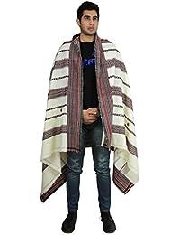 Wollene-accessoires de l'inde foulard chaude enveloppe brodé main