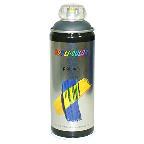 Duplicolor 720345 Platinum Spray, Color Gris Antracita Mate, 400 ml