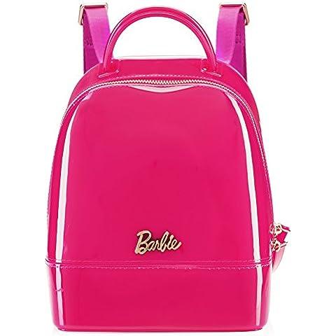 Barbie BBBP062 Serie de Princesa Mochila Simple Casual de Jalea Clara Mochila de Viaje