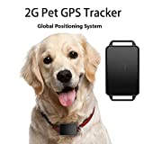 Festnight Localizzatore GPS Tractive per Cani e Gatti, Inseguitore Pet Tracker Smart GPS e attività Controllo App Supporto IP67 Impermeabile iOS 7. 0 / Android 4.3 o Versioni successive