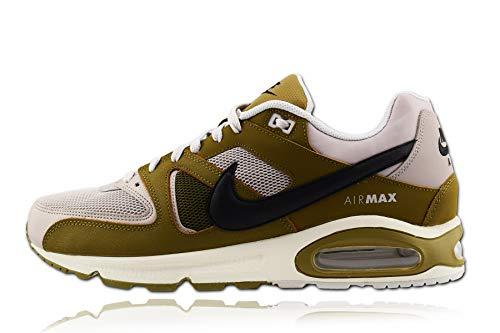 Nike Herren AIR MAX Command Laufschuhe, Mehrfarbig (Moon Particle/Black-Olive Flak-Vast Grey 201), 45 EU (Nike Jordan Schuhe Air)
