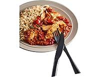 Rapide, bon et savoureux, voilà un plat préparé surgelé qui tient ses promesses. Du poulet basquaise et du riz parfumé au piment d'Espelette dans ce plat cuisiné individuel ! Après quelques minutes au micro-ondes, savourez ce poulet fondant qui vous ...