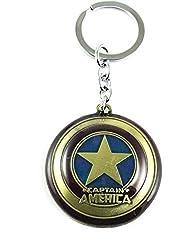 A M ENTERPRISES Captain America Key Chain key Ring