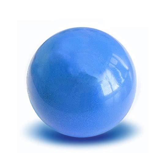 Mivismm mini palla di yoga palla di fitness fisica per l'esercizio di elettrodomestico palla equilibrio esercizio bici equilibrio baccelli gym yoga pilates 20 centimetri blu
