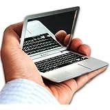 MacBook Air design portable pocket mini make up cosmetic mirror Silver