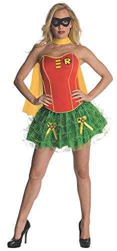 Rubie 's Offizielles Damen/Robin/Batgirl Korsett, Erwachsenen-Kostüm-Medium