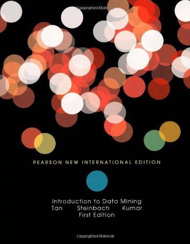 Introduction to Data Mining: Pearson New International Edition por Pang-Ning Tan