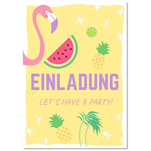 amingo Einladungskarten Geburtstag Kinder | Coole Einladung zum Kindergeburtstag für Mädchen und Jungen | Witzige Einladungskarte in A6 ()