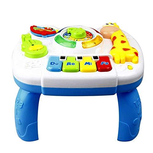 Spielzeug für Baby Musical Learning Table Music Activity Center Spiel Tisch für Kleinkinder Kleinkinder, 1-6 Jahre alt, beste Geschenk für Ihre kleinen Mädchen und Jungen