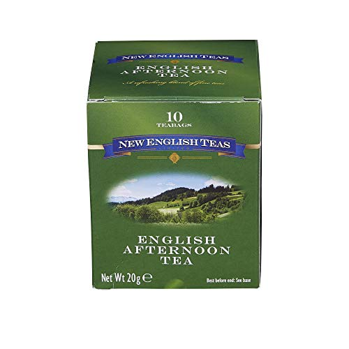 New English Teas English Classics Afternoon Teabags Carton (Pack of 6, Total 60 Teabags)