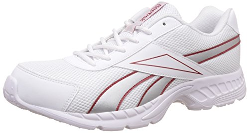 Reebok Men's Acciomax Lp Steel, White, Black, Red and Silver Running Shoes - 6 UK/India (39 EU)  available at amazon for Rs.1578