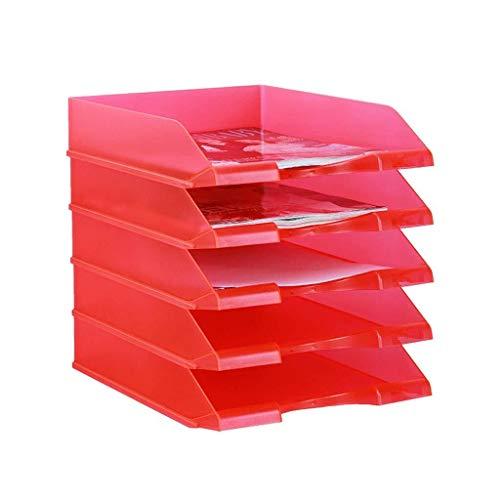 LISAY Fünfschichtigen Kombination abnehmbare Abstellfläche Bonbons Farbdatei Halter Kunststoff Datenablage Schreibtisch Schlichten Aufbewahrungsbox