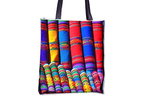 Substances, Colorful, Color, Pattern allover printed totes, popular totes, popular womens' tote bags, professional tote bag, large professional tote bags, best tote bags, best large tote bags (Professional Tote Pattern)