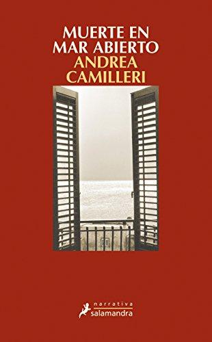 Portada del libro Muerte en mar abierto: Montalbano - Libro 27 (Narrativa)