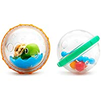 Munchkin Float and Play Bubbles Bath Toy, Pack of 2 ( Assorted Model )