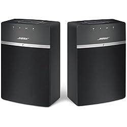 Pack duo Bose Soundtouch 10 Système Audio - Noir