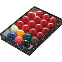 Powerglide 57110 - Bolas de snooker (53 mm, 22 unidades)