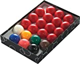 Powerglide 57110 - Bolas de snooker (53 mm, 22 unidades)