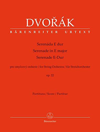 Serenade für Streichorchester E-Dur op. 22. Partitur, Urtextausgabe