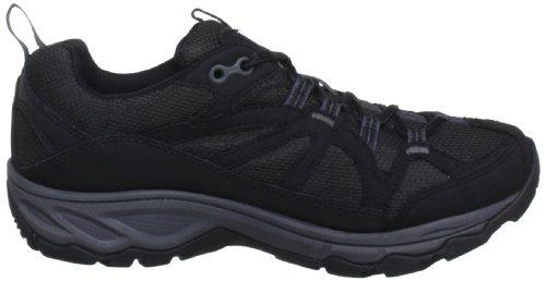 Merrell J54852, Chaussures de randonnée femme Multicolore (Black/Carbon)
