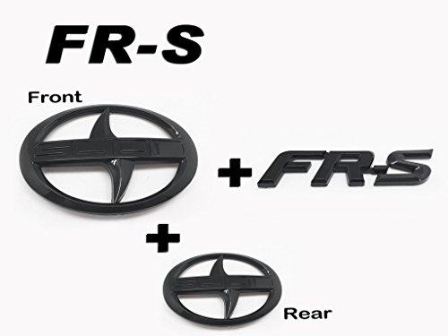 3-vorne-hinten-frs-trunk-badge-emblem-logo-schwarz-glanzend-fur-scion-frs-fr-s-zn6
