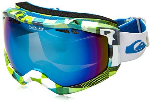 Quiksilver Eqytg03059 Herren Ski-/Snowboardmaske one Size Lime Green Check Atomic (Sonnenbrille Green Lime)