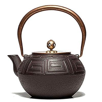 Théières teapots Théières en fonte Théière ancienne Text1.2L Théière Thé Fer à repasser thé Ensembles