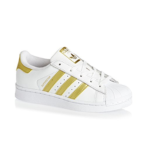 Adidas Superstar C White