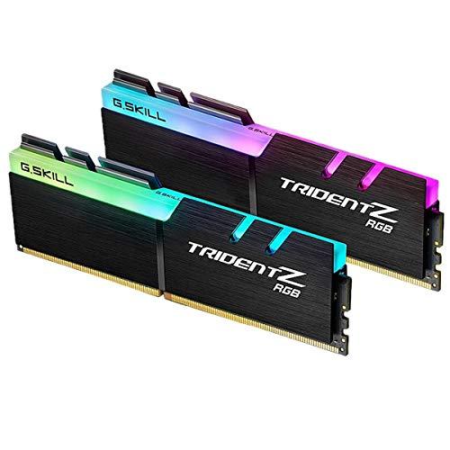 G.Skill Trident Z RGB F4-3000C16D-32GTZR módulo de - Memoria (32 GB, 2 x 16 GB, DDR4, 3000 MHz, 288-pin DIMM)