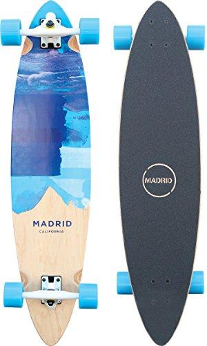 """Madrid Blunt 38\"""" Blues Longboard, One Size"""
