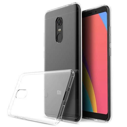 i-comercio Slim Funda Xiaomi Redmi 5 Plus Slim Transparente Ultrafina 0.3 Silicona TPU Gel Ultra Delgada Xiaomi Redmi 5 Plus (Transparente)