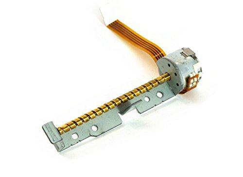 Worm-drive-motoren (Electromyne Linearantrieb Wurmmotor Steppermotor Laserführung / Laser Drive Worm Motor 71mm (Generalüberholt))