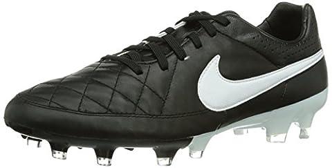 Nike Tiempo Legacy FG, Herren Fußballschuhe, Schwarz (Black/White 010), 42 EU