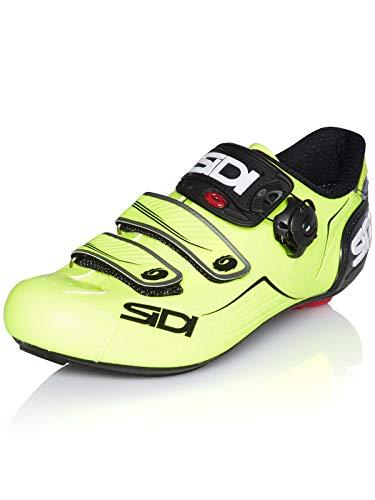 Sidi Zapatillas De Ciclismo Alba Amarillo Fluorescent-Negro (EU 42.5, Amarillo)