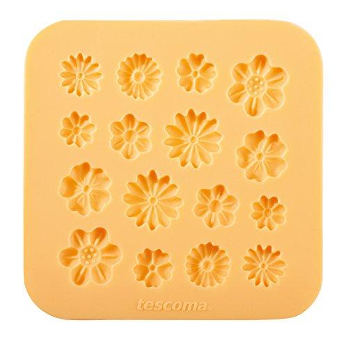 Tescoma 633028 Stampo in Silicone per Pasta di Zucchero, Fiorellini
