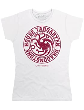 Official Game of Thrones - House Targaryen Camiseta, Para mujer