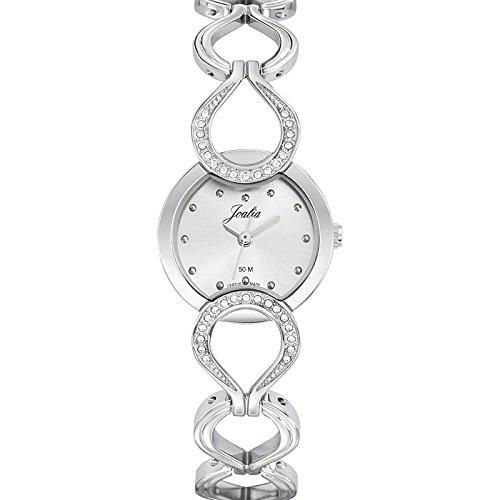 Joalia 633315 - Orologio da polso donna, metallo, colore: argento