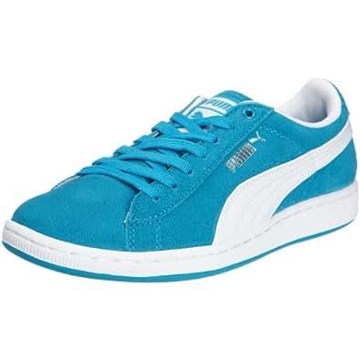 PUMA Supersuede Wn's 351275, Damen Sneaker, Türkis  (hawaiian ocean-white 06), EU 36  (UK 3.5)  (US 6)