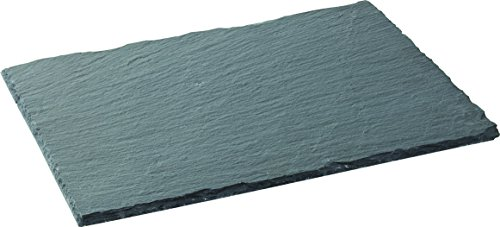 UTOPIA Slate Präsentation, ct0029, rechteckig, groß, Schieferplatte 30,5x 21,6cm (30x 22cm) (6er Box) - Große Rechteckige Esstisch