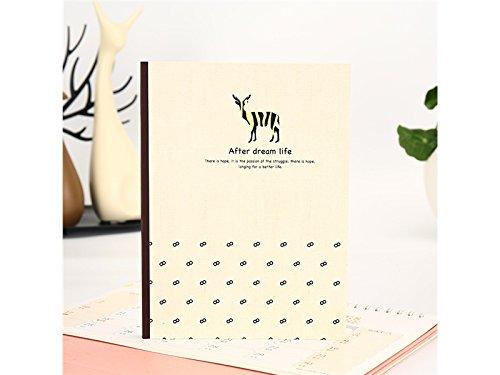 Geeignet für Weihnachten Persönlicher Tagebuch-Anmerkung Schulnotizbücher und Zeitschriften Papierbücher