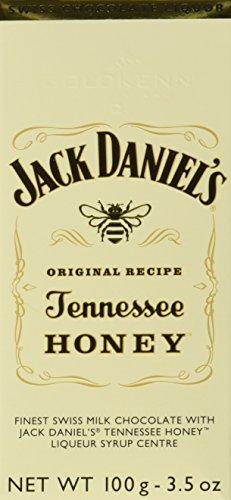 Goldkenn Schokoladentafel mit Jack Daniel's Tennessee Honey, 5er Pack (5 x 100 g)