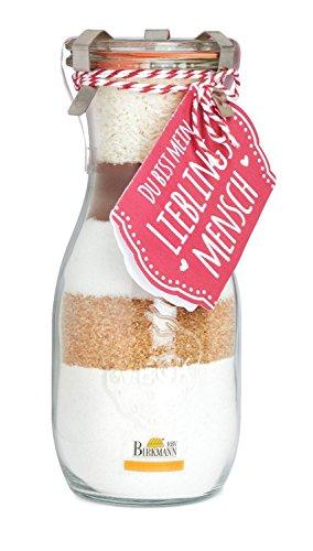 """Preisvergleich Produktbild Kuchenbackmischung im Weck-Glas """"Du bist mein Lieblingsmensch"""""""