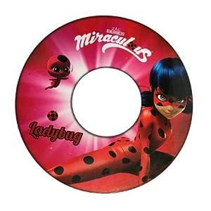 GIM-Ladybug Flotador Hinchable bajo Licencia ladybyg Miraculous 51cm, 870-90110
