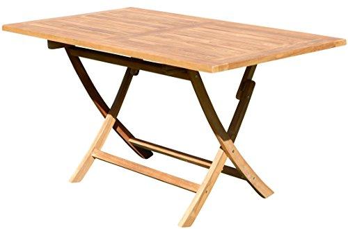 ASS Echt Teak Holz Klapptisch Holztisch