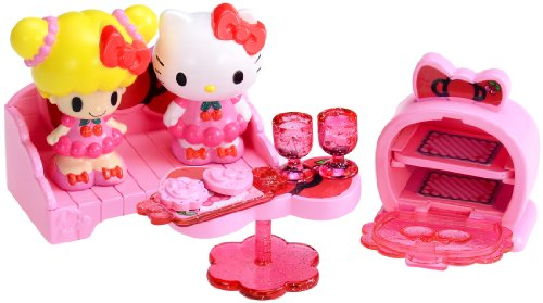 Tea time set of Hello Kitty ribbon twig Chan (japan import)