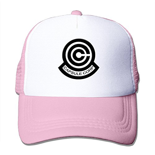Dragon Ball Z cápsula Corp logotipo Fashion Cool Mesh Cap Sombreros
