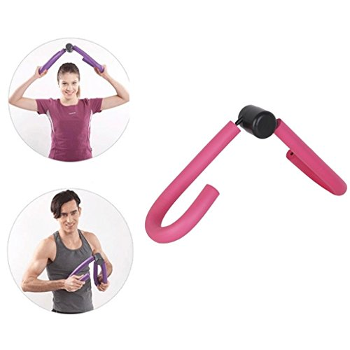 PHILNA12 Leg ARM Muscle Thigh Master Exercise fitness palestra sport Slim Equipment & # xFF08; Pink & # XFF09;