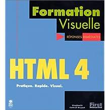 HTML 4, Formation visuelle