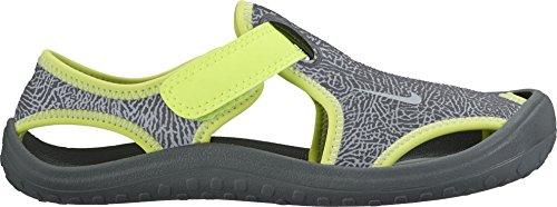 Sandalias y chanclas para ni�o, color gris , marca NIKE, modelo Sandalias Y Chanclas Para Ni�o NIKE SUNRAY PROTECT Gris